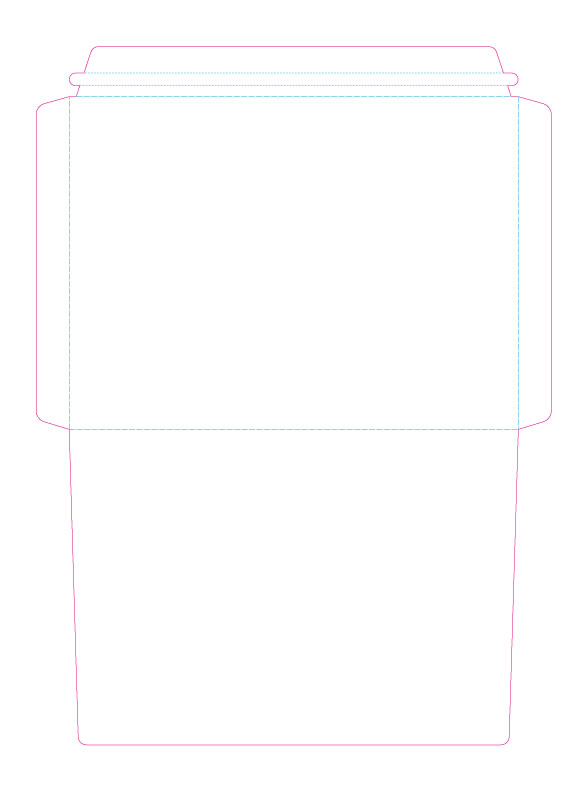 legal size envelope template - the custom pocket folder printing experts